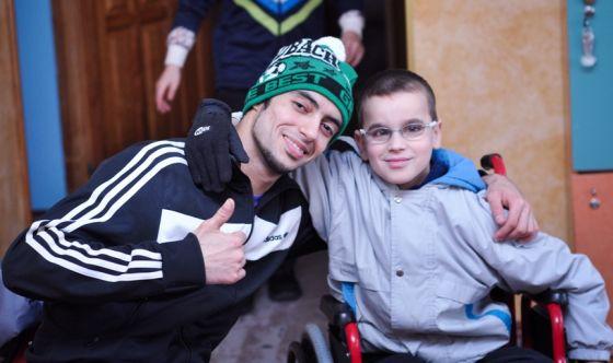 Поездка в Цюрупинский детский дом инвалидов